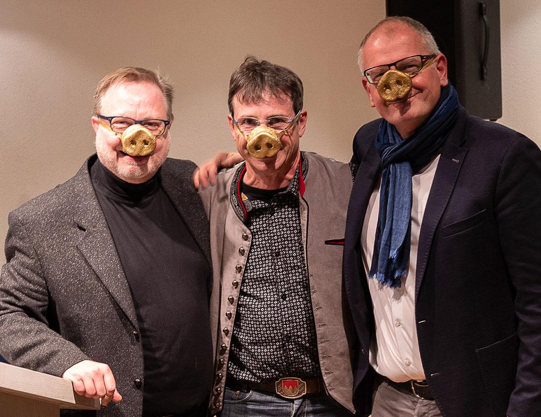 Peter Kuhn, Oti Schmelzer, Ludi Paul